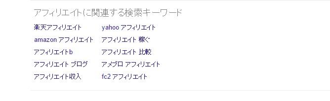 グーグル複合キーワード